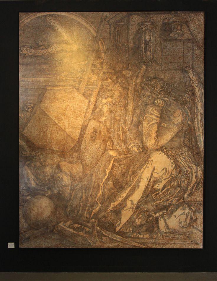 Java of Durer #2 (500 Years of Melencolia I Series)