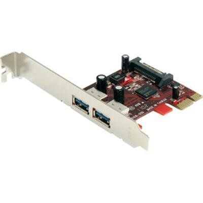 New - 2 Port PCI Express Adapter by Startech.com - PEXUSB3S22 by StarTech. $35.65. 2 Port SuperSpeed USB 3.0 PCI Express Card with SATA Power