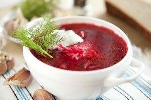 Bors polonez de sfecla rosie