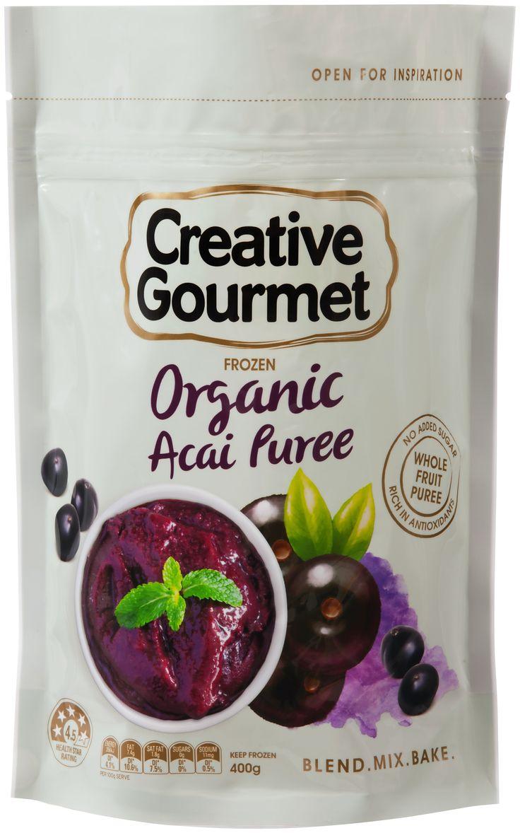 Organic Acai Puree - Creative Gourmet