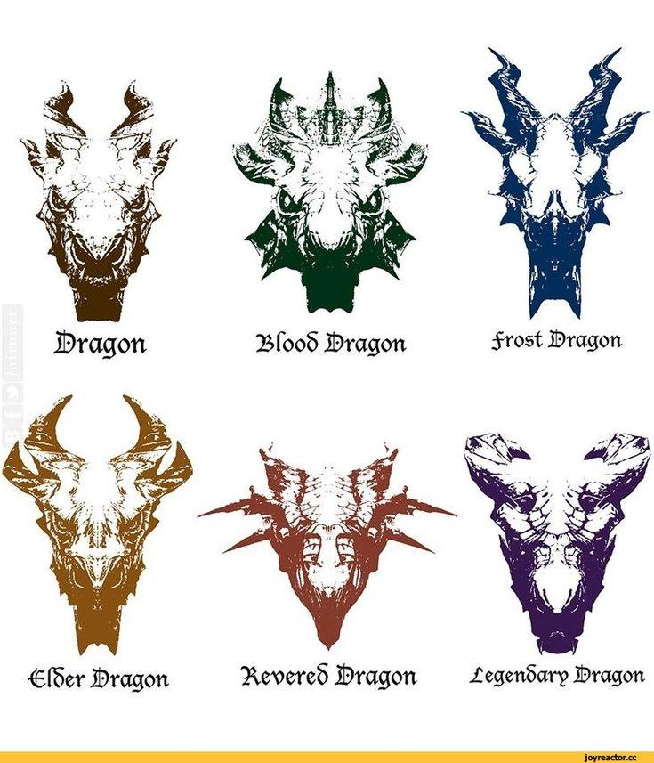 ©ragon ВГооб Bragon frost Bragon С föer Bragon Xe>ere5 Bragon jCegen6ary Bragon,TES art,The Elder Scrolls,фэндомы,Skyrim