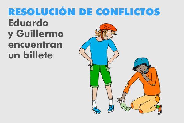 Resolución de conflictos. Otro recurso interactivo para llevar a cabo la mediación.