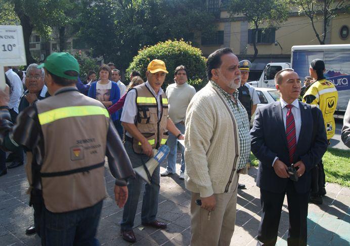 Se realizó una simulación de sismo de 7.6° proveniente de la zona de Guerrero y los protocolos funcionaron en tiempo y forma