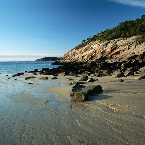 Deserted Island Beach: Best Island Vacation, Mount Desert