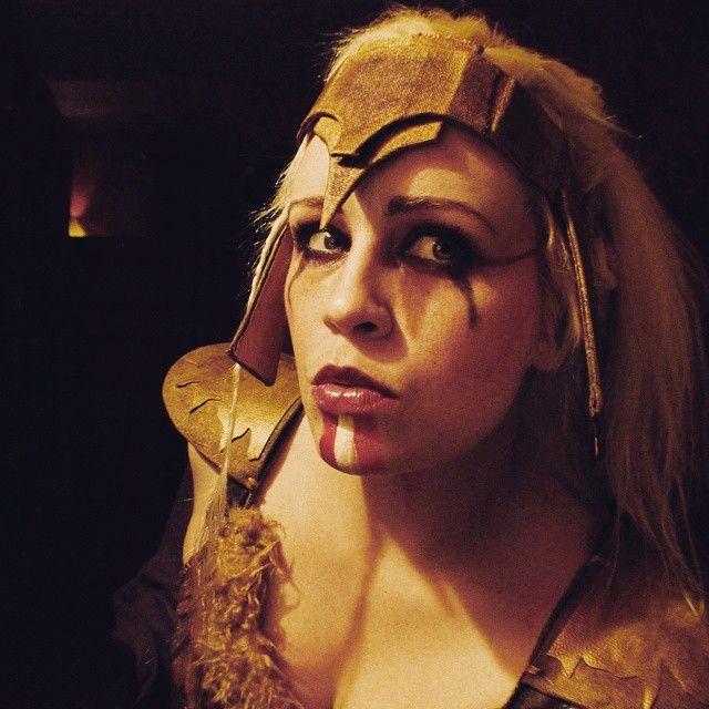 Past.  #valkyrie #norwegian #norge #viking #vikingwomen #norwegiangirls #cosplay #makeup #costume #norway #blondchick #midnightmadness #333am #blonde