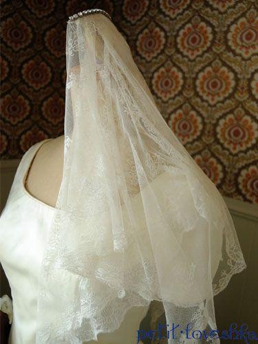 アンティーク / ヴェール / ベール / veil / 結婚式 / wedding / オリジナルウェディング / プティラブーシュカ / トキメクウェディング