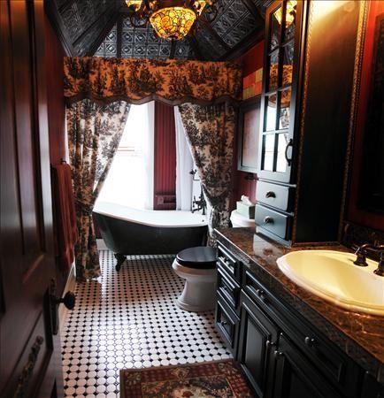 1000 idee su bagno con stile gotico su pinterest for Arredamento gotico