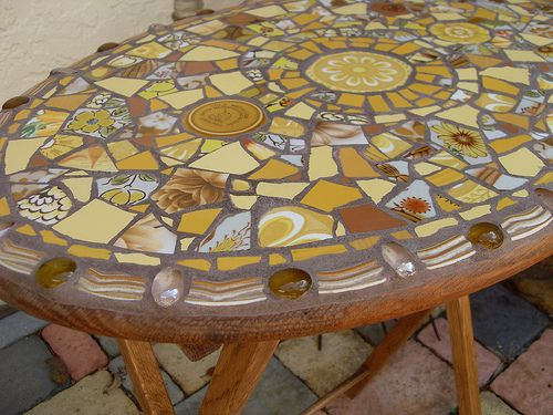 Picassiette Mosaic Table