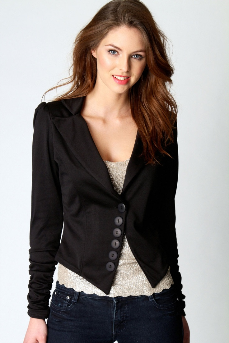 love this blazer and the shiny shirt below it! $40