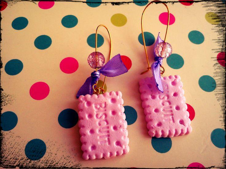 pink biscuits!