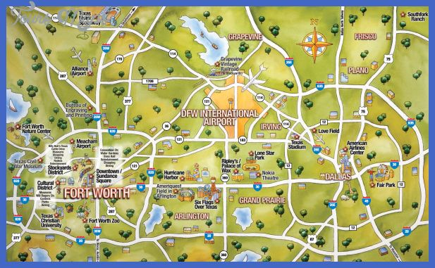 Texas Map Tourist Attractions toursmapstexasmap – Tourist Attractions Map In Texas