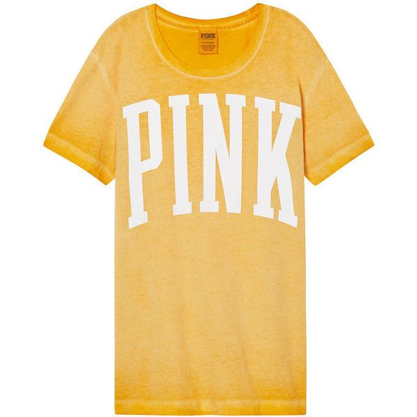 Tees, Tanks & Tops - PINK ($125) ❤ liked on Polyvore featuring tops, pink, tee's, strappy top, baseball tshirt, pink crop top, beige crop top and pink baseball tee shirt
