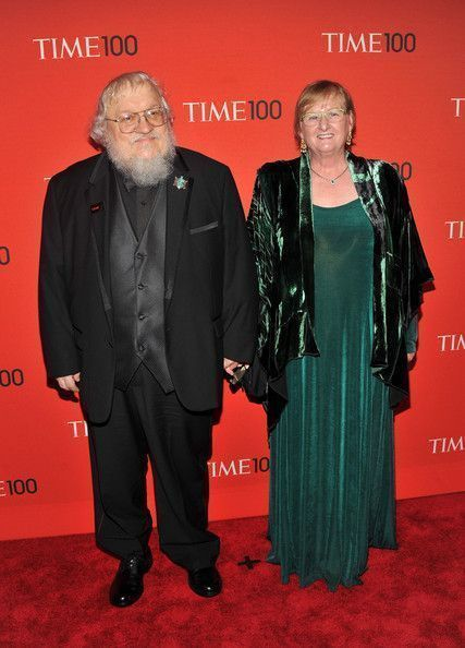 Image result for Parris McBride  It's more red carpet time for Parris McBride and her hubby George R.R. Martin,author of Game of Thrones.  Parris wanted a deep, foresty green long dress so we made her a Juliet Dress.  She looks vivid and lovely, xox Peg #PeggyLutzPlus#style #plussize #plusstyle #wearwhatyoulove #lovewhatyourwear #womanstyle #divastyle