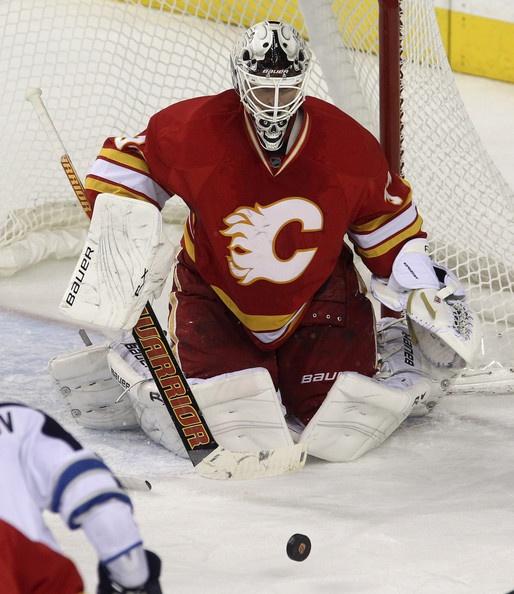 Miikka Kiprusoff Photo - Winnipeg Jets v Calgary Flames
