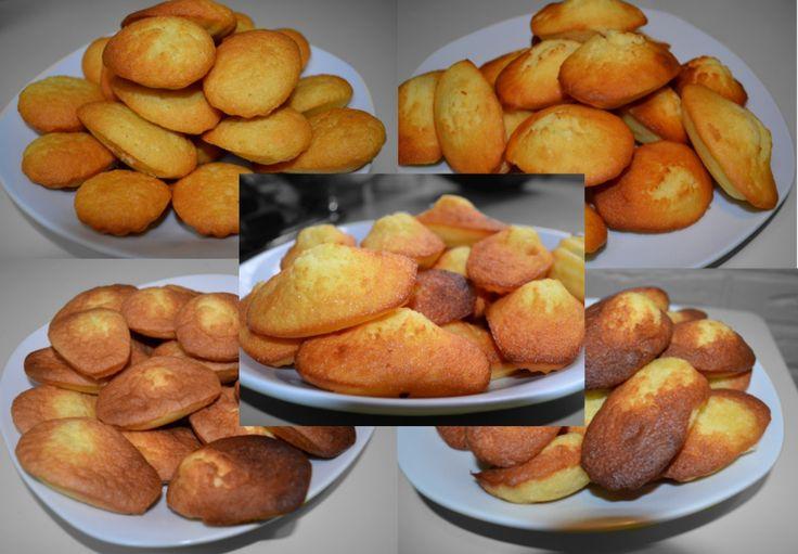 Le classement de recettes de madeleines  Découvrez les meilleures madeleines !