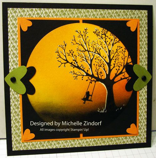 Forever young Stampin up    Just Swinging - MZ by Zindorf - Cards and Paper Crafts at Splitcoaststampers