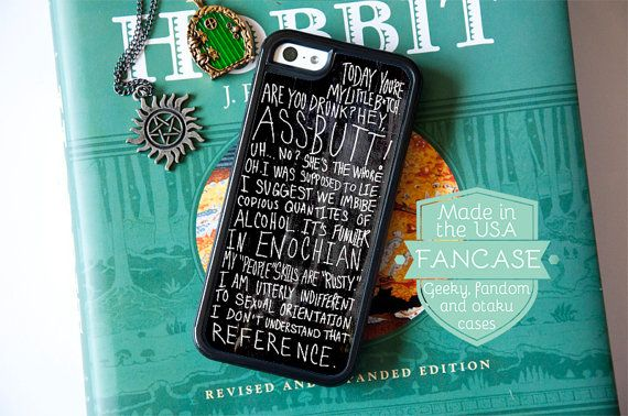 Castiel Phone Case Supernatural Phone Case Supernatural iPhone 6 Case Supernatural iPhone 5 Case iPhone 5s iPhone 5C Case Misha Collins