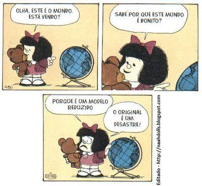 Saudável anormal: Mafalda, cartunista Quino
