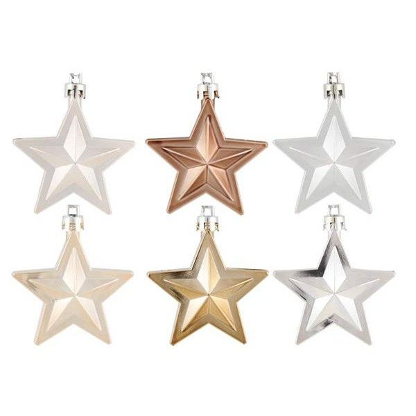 Shatterproof Christmas stars, Home Sweet Home | It's all about Christmas