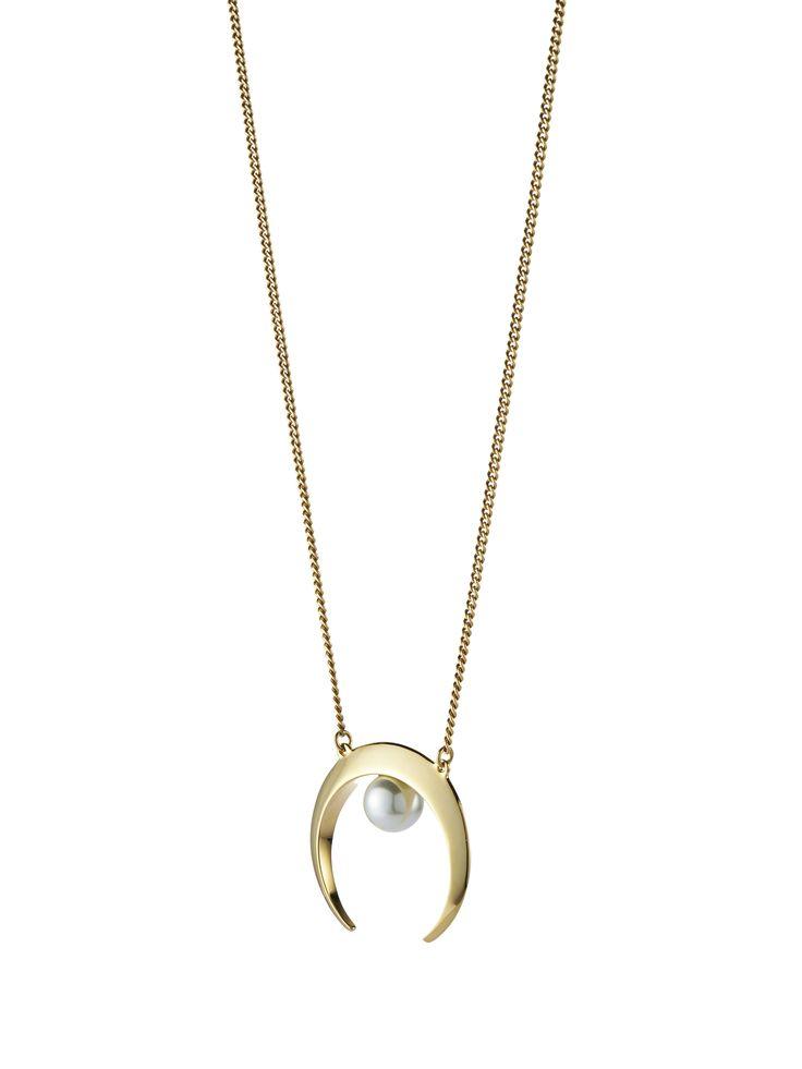 Lotus Pendant; exclusively available on Indigo.ca #JENNYBIRDxINDIGO #JBdiffusion #modernpearl