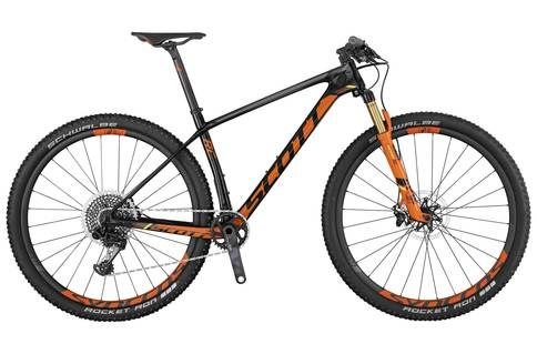 Scott Scale 900 RC SL 2017 Mountain Bike | Black/Orange - XL  #CyclingBargains #DealFinder #Bike #BikeBargains #Fitness Visit our web site to find the best Cycling Bargains from over 450,000 searchable products from all the top Stores, we are also on Facebook, Twitter & have an App on the Google Android, Apple & Amazon.