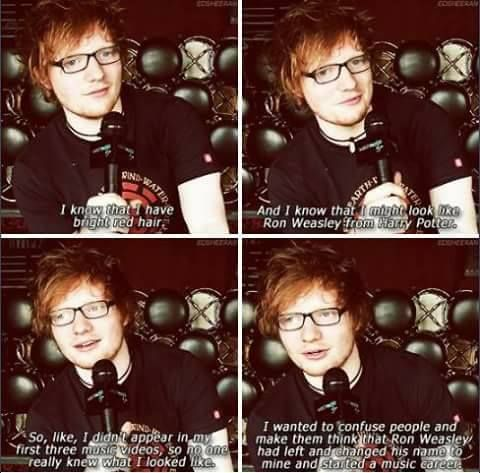 I KNEW IT. HE HIRED RUPERT ON THIS PURPOSE. DAMN YOU ED LOL