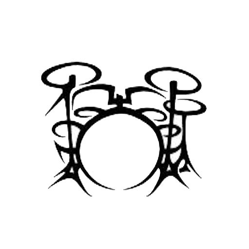 Image result for tribal drum tattoo