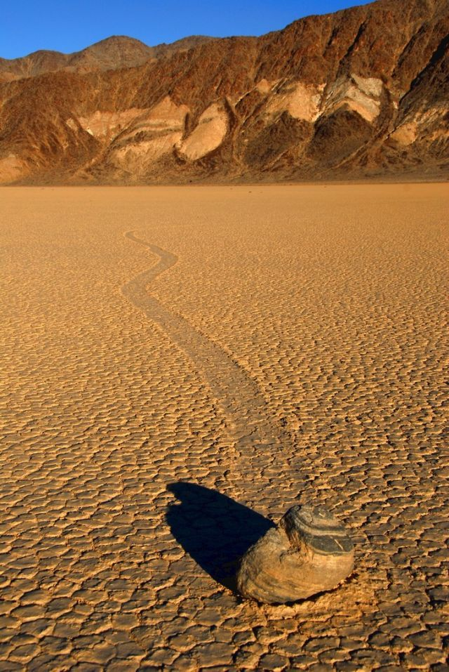 The Mysterious Sailing Stones of Death Valley