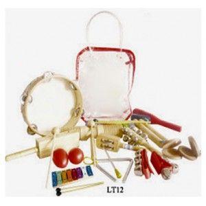 Kit pack musical niño varios instrumentos percusion Completo!!