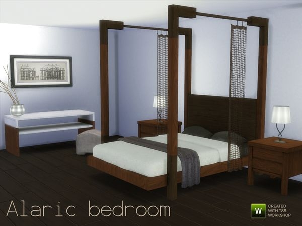 The sims resource alaric bedroom by spacesims sims 4 for Bedroom simulator