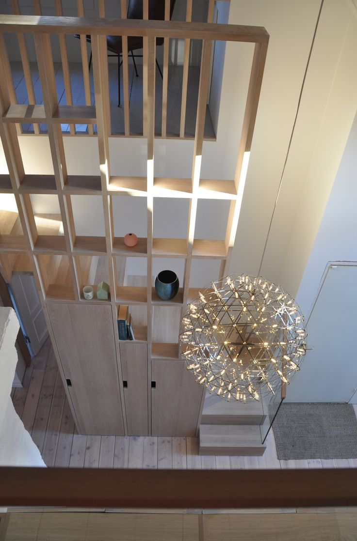 Studio Vabø - Staircase design - Møllegata  Storage and partition