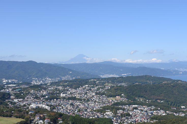 小室山展望台からの富士山 2016.10