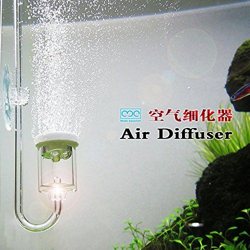 Feature:  This is air diffuser not CO2 diffuser Need to work with air pump Bubble counter function Running silence and quiet no noise Different with the traditional air stone this product diffuse...