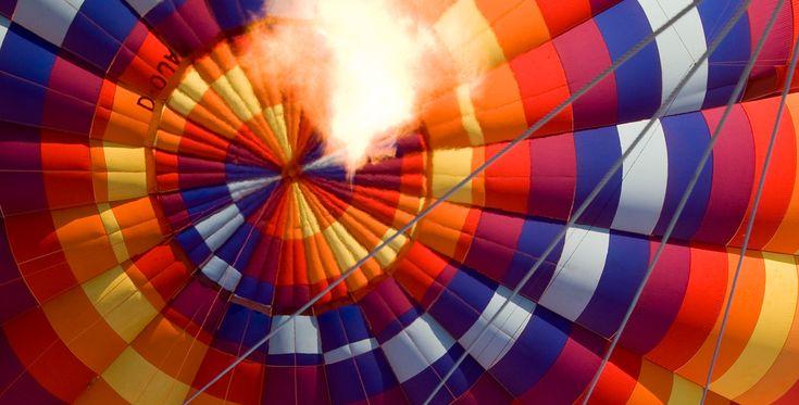 Ballonfahren in Düsseldorf-Oberkassel #Himmel #Ballonfahrt #Geschenk