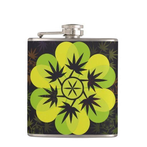 Hoja colores arcoiris vectorial de planta. Plant. Cannabis. Producto disponible en tienda Zazzle. Product available in Zazzle store. Regalos, Gifts. Link to product: http://www.zazzle.com/hoja_colores_arcoiris_vectorial_de_planta_plant_hip_flask-256410264957493054?CMPN=shareicon&lang=en&social=true&rf=238167879144476949 #bottle #botella #petaca #marihuana #cannabis