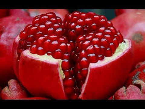 POMEGRANATE OPENING - Awesome Pomegranate Technique - jak otworzyć granat - YouTube