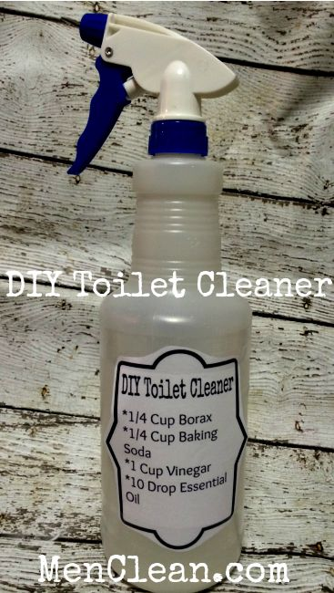 Homemade Toilet Cleaner #menclean #diy