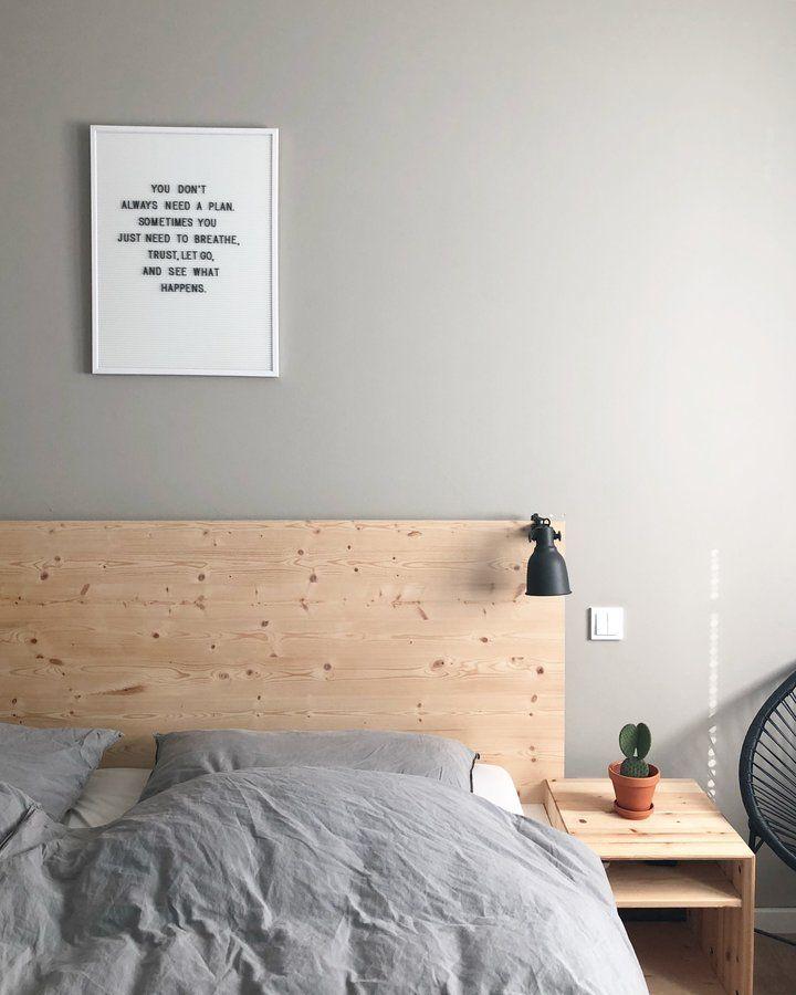 wandbild stecktafel - Schlafzimmerideen Des Mannes Grau