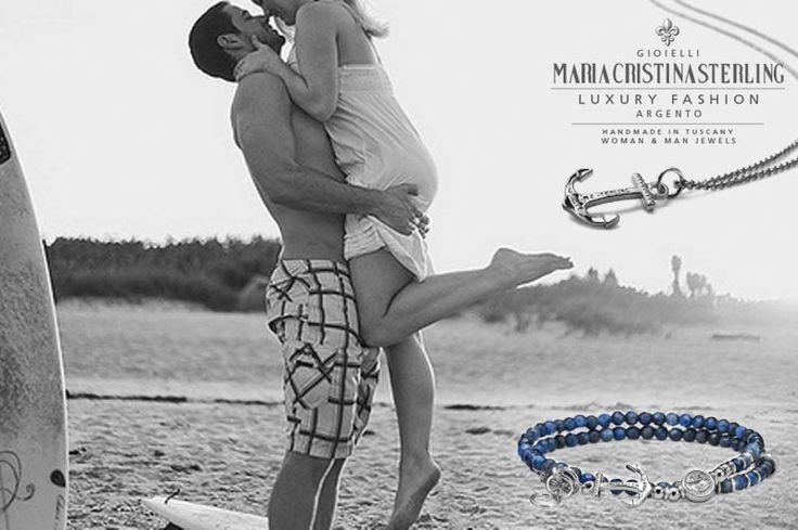 #NEPTUNECOLLECTION IL mare... per Uomo e Donna. http://shop.mariacristinasterling.it/categoria-prodotto/gioielli_donna/collezione_neptune/