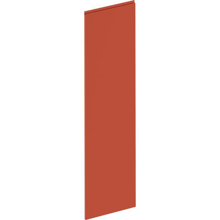 Joue Osaka rouge velours, DELINIA ID H.214.1 x l.59.7 cm