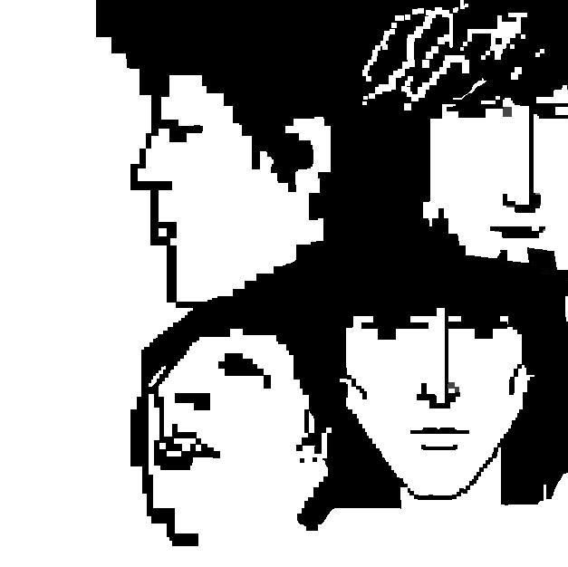 the beatles- revolver cover 8bit
