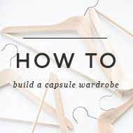 Need a little more guidance on this whole capsule wardrobe thing? I've got your back. I made this little planner to help you uncover your personal style + build a totally workable wardrobe. And…it'...