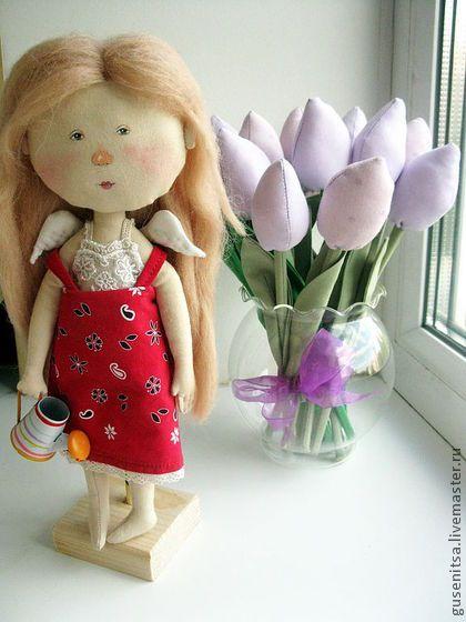 """Коллекционные куклы ручной работы. Ярмарка Мастеров - ручная работа """"У каждой девочки свой сад"""".. Handmade."""