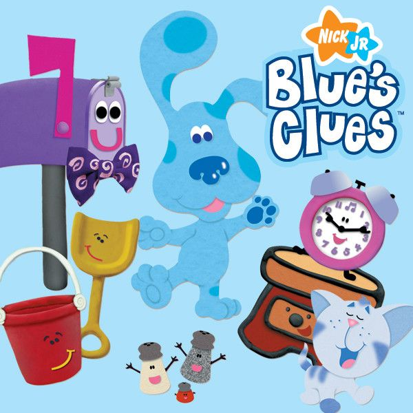 Blue's Clues - Favorite show when I was a little kid