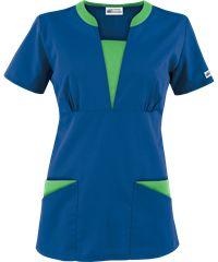 UA Best Buy Scrubs Contrast V-Neck Four Pocket Scrub Top
