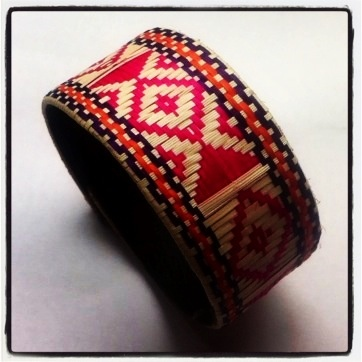 Colombian Caña flecha woven bracelets