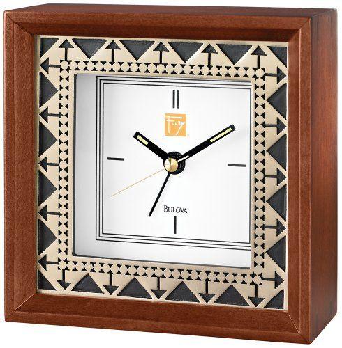 Frank Lloyd Wright Beth Sholom Alarm Clock by Bulova Bulova,http://www.amazon.com/dp/B00BUUCR0U/ref=cm_sw_r_pi_dp_ztHJsb1JWPB2479A $40