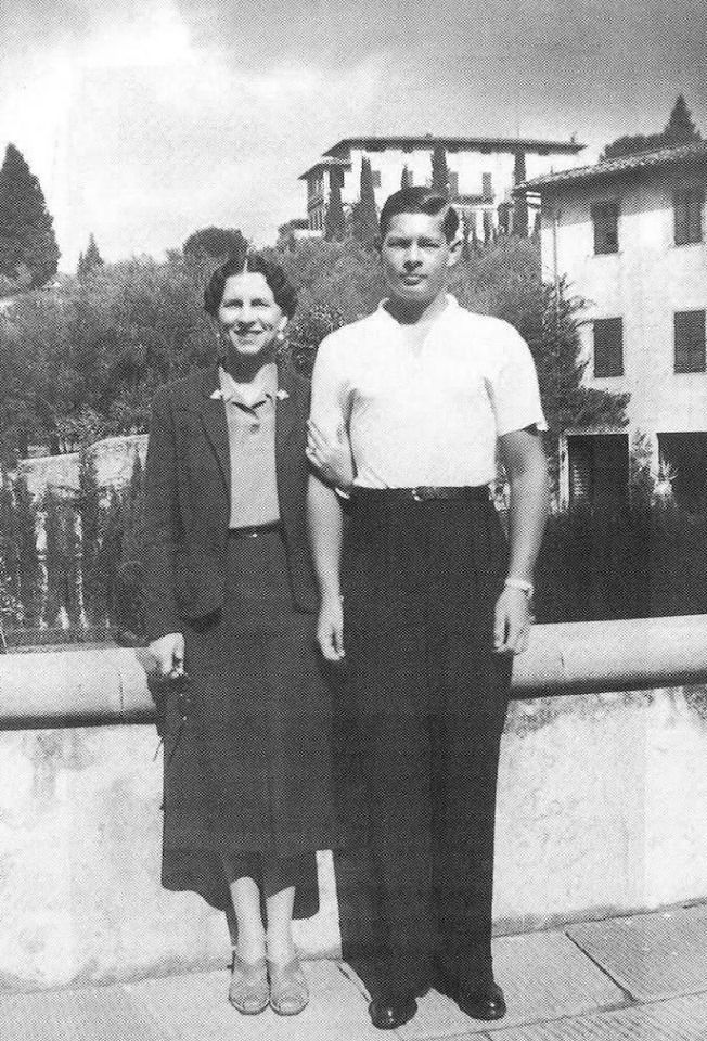 King Michael of Romania and Elena, the Queen Mother