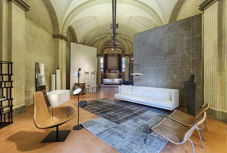 Linvisibile Showroom in Bologna, at Insidesign Studiostore.   Santa Maria della Neve, Vicolo della Neve n.5 - Bologna, Italy