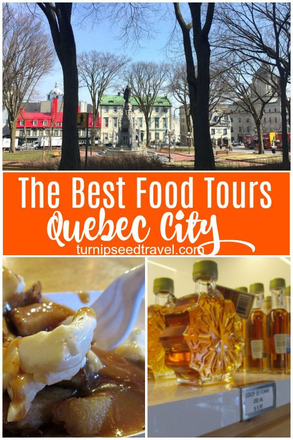 Where Can You Find Poutine And Fine Wine On A Quebec City Food Tour Of Course In 2020 Quebec City Food Tours Canadian Travel